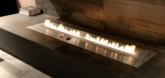 автоматическая линия огня на биотопливе