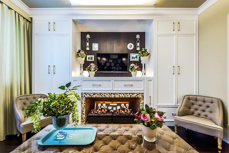видим, создать кухня с камином фото идеальный ремонт загорелся